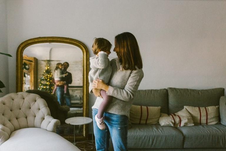 fotografia de familia navidad 2020 malaga